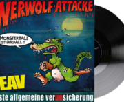 Werwolf-Attacke Vinyl