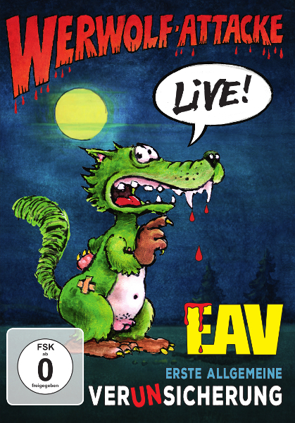 Werwolf-Attacke! - Live! EAV DVD Cover 2017