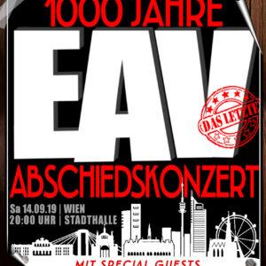EAV Abschiedskonzert Wien 2019