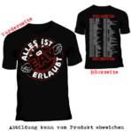 Alles ist erlaubt – 1000 Jahre EAV – Tour-Shirt