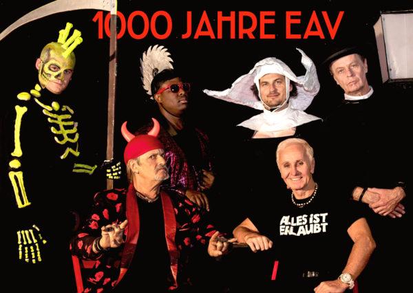 1000 Jahre EAV Abschiedstournee Band