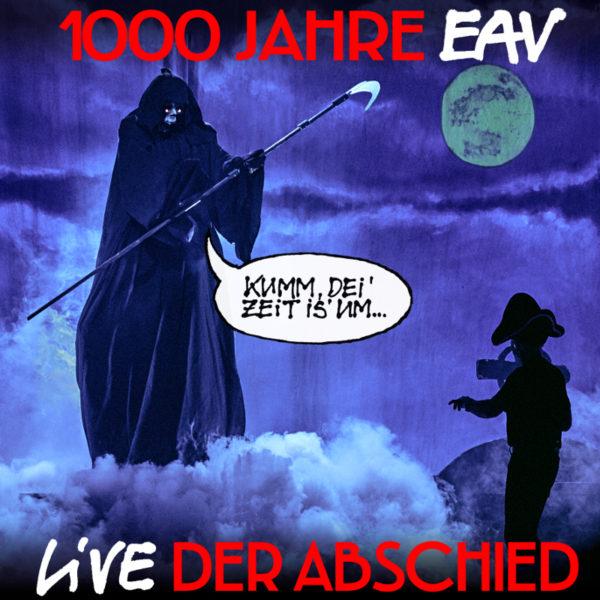 1000 Jahre EAV live Der Abschied-Cover DVD Buch Bluray