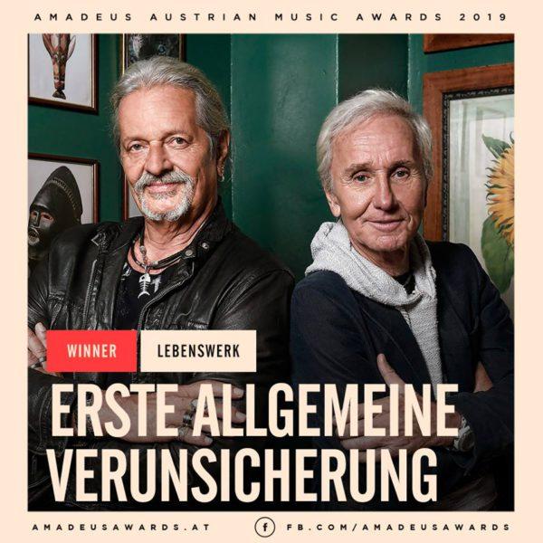 EAV Lebenswerk AMADEUS AUSTRIAN MUSIC AWARD 2019