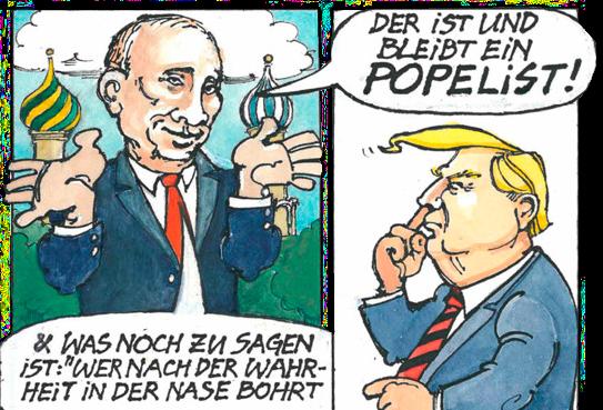 EAV - Rechts 2 3 (Karikaturen Video von Thomas Spitzer)