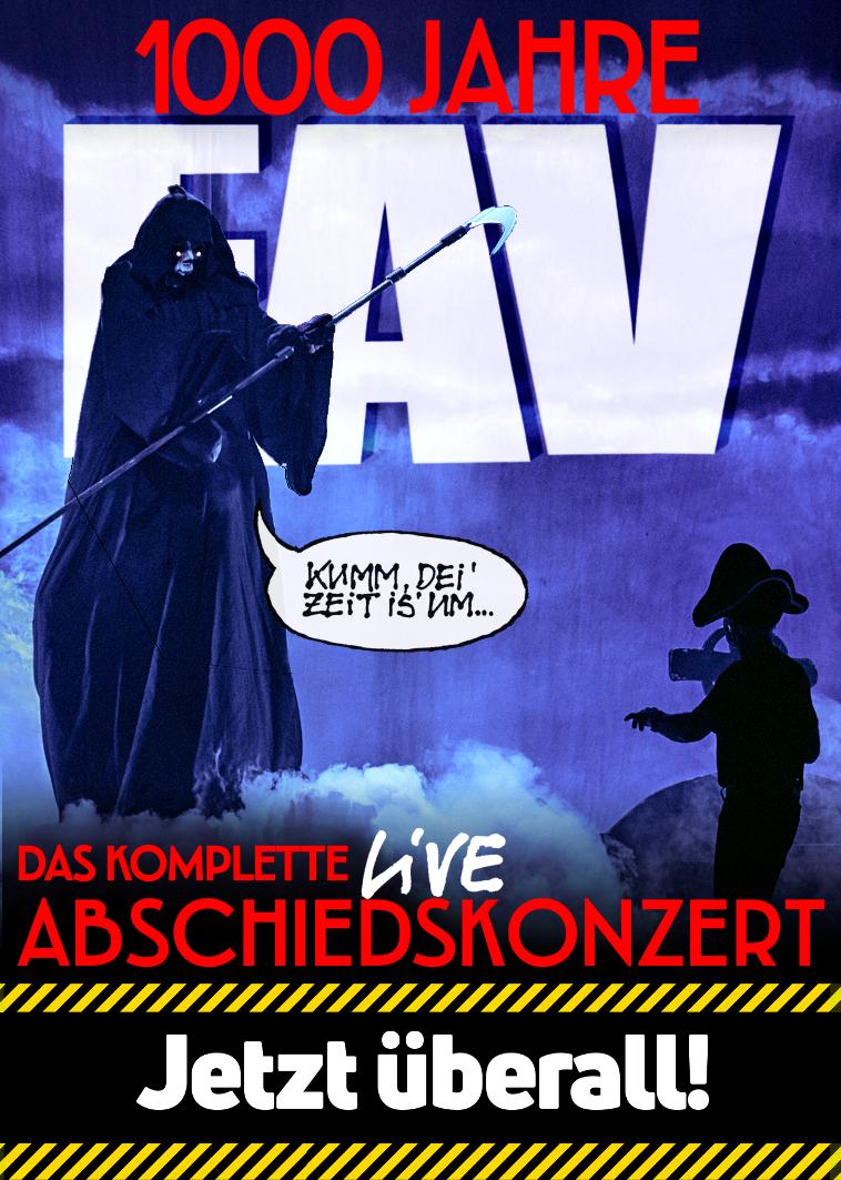 1000 Jahre EAV Live Der Abschied