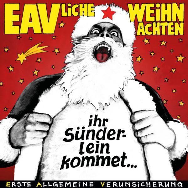 EAVliche Weihnachten - Ihr Sünderlein Kommet -EAV Digital-Cover
